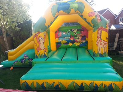 Jungle Combi Castle